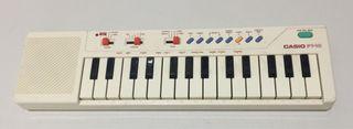 Piano casio pt-10 color blanco años 90