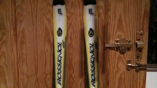 skis rossignol,anclajes salomon 900 S