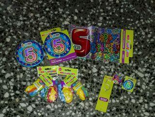 5 Cumpleaños