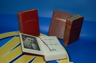 4 libros OBRAS COMPLETAS ENRIQUE JARDIEL PONCELA