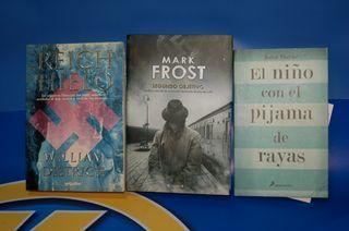 Libro novelas sobre nazismo -3 novelas diferentes