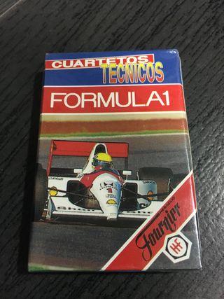 Juego de cartas fórmula 1,coches,baraja heraclio