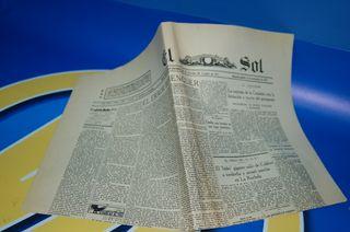 Periodico EL SOL- Año 1930 nº 4138.