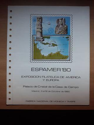 Sellos ESPAMER 1980