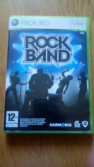 Juego xbox360 Rockband