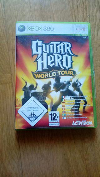 Juego xbox360 GuitarHero Rockband