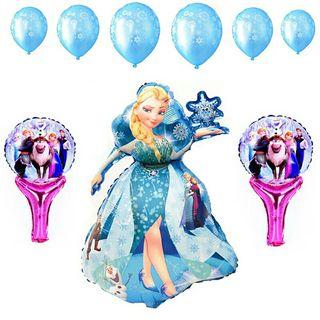 13 globos frozen !!