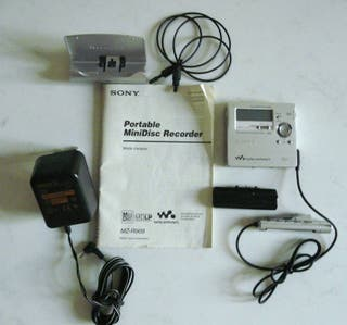 Sony lecteur enregistreur MZ R909 Mini disc