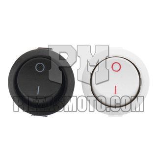 Interruptor de Botón ON-OFF 2 Pines 3A/250VAC 6A/1