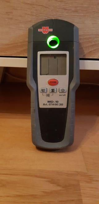 Detector metal, madera, electricidad.