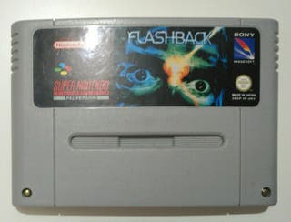 Juego Super NES - Flashback