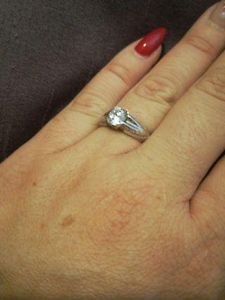 anillo plata de ley