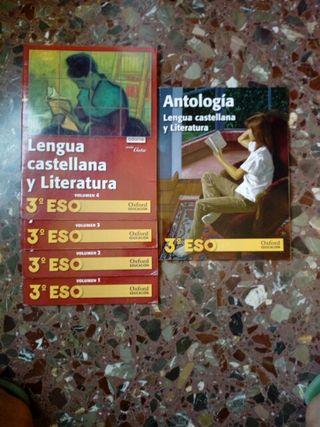 Libros 3 ESO Lengua y Literatura
