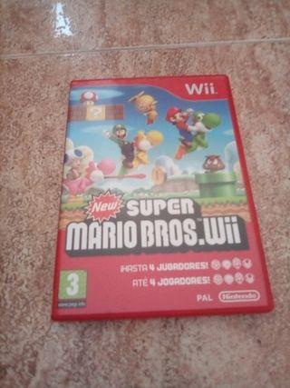 Juego Wii new super Mario Bros