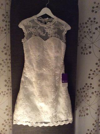Vestido novia/celebración NUEVO! A ESTRENAR.!!