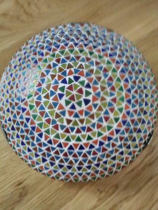 Lámpara mosaico tipo plafón