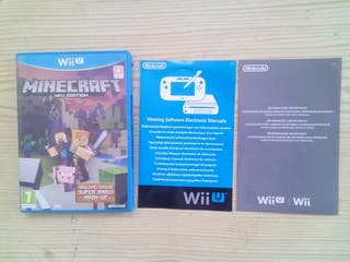 Nintendo Wii U Minecraft Wii Edition - Caja Sin In