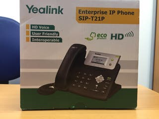 Telefono Yealink para telefonía Ip