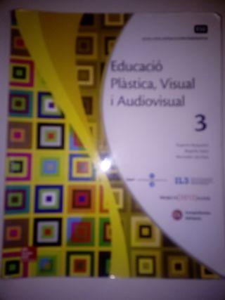 Libro Educació Plàstica,visual i audiovisual 3