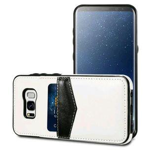 A Estrenar Funda/Tarjetero Blanco Galaxy S8 Plus