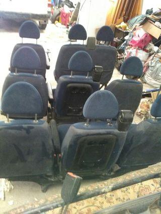 9 asientos de Citröen jumpy