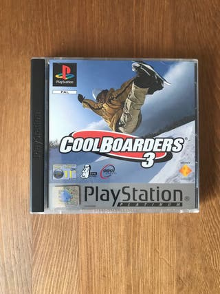 Cool boarders 3 PLATINUM PSX