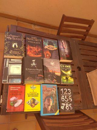 Libros de cienciaficcion y fantasia