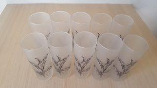 10 vasos de tubo
