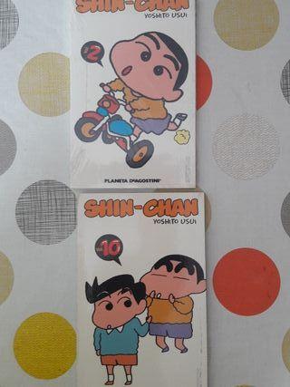 mangas shin chan. n 2 y 10