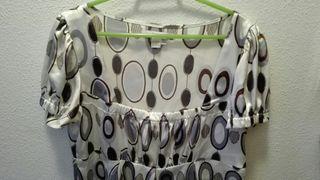Vestido veraniego , de Zara, Talla XL