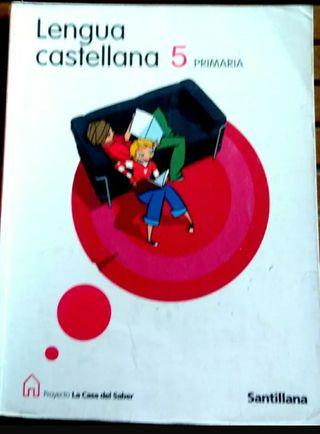5º PRIMARIA Lengua Castellana