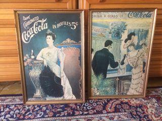 Cuadro de Coca Cola antiguo ENVÍO GRATIS