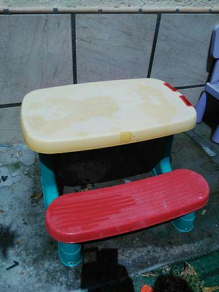 mesa juguete jardin