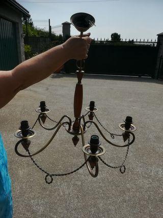lámpara de 5 brazos