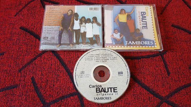 CARLOS BAUTE ORIGENES II TAMBORES 2DO CD MUY RARO