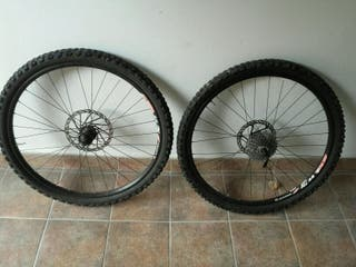 ruedas btt