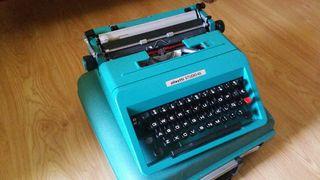 Máquina de escribir en perfecto estado!