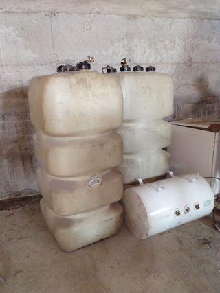 depositos y caldera de gasoil