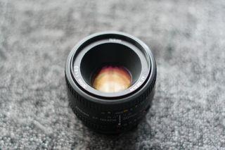 Objetivo Nikkor 50mm f/1.8 AF-S