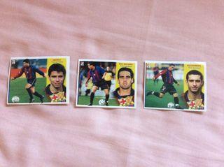 Cromos liga 02 03 Barcelona colecciones este
