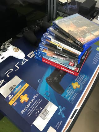 Ps4 pro 1tb muchos extras