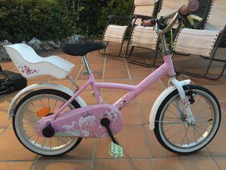 Bicicleta niña Decathlon 16
