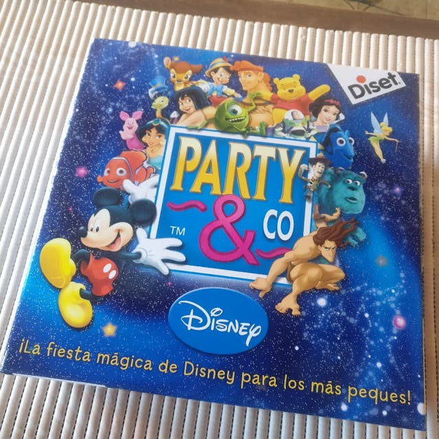 Juego De Mesa Ninos Party And Co Disney 4 Anos De Segunda Mano