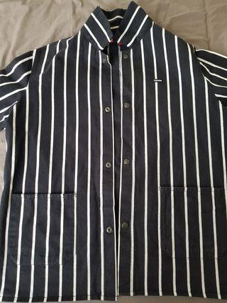 Supreme Striped Shop Jacket