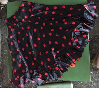 3232337f7 Falda flamenca de segunda mano en Barcelona en WALLAPOP