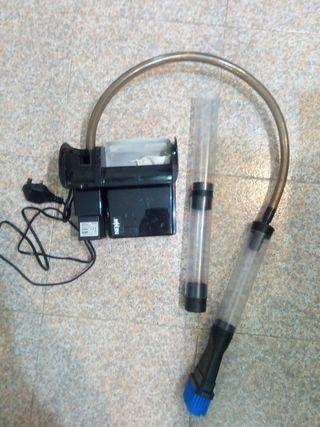 filtro limpieza acuario