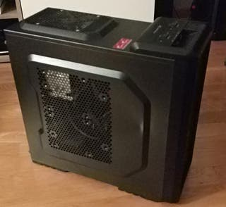 PC sobremesa: Intel i7, 32GB RAM, ,0'5 TB SSD