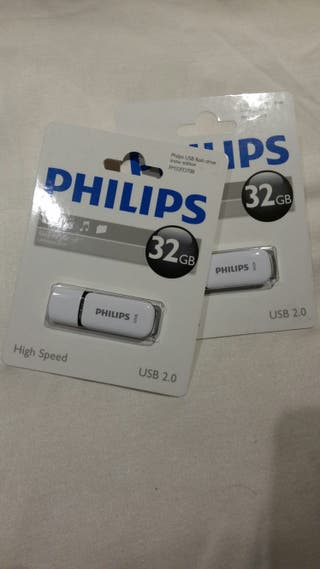 Pen drive 32Philips Usb 2.0 Palillo De 32 Gb