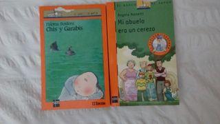 2 libros Barco de Vapor . SM. A partir 9 años