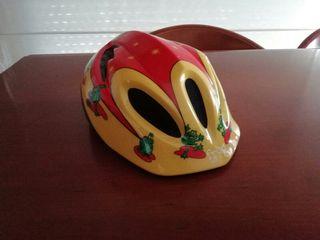 Casco infantil para bicicleta